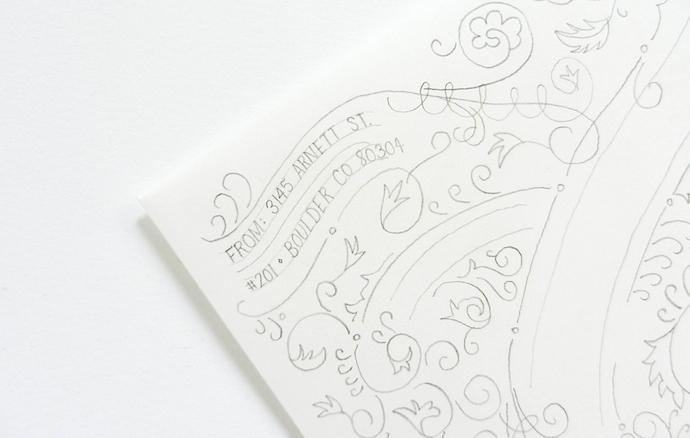 typography envelope 5