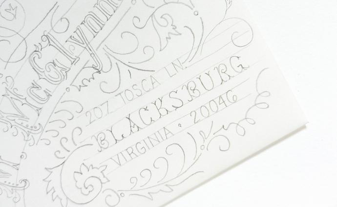 typography envelope 7