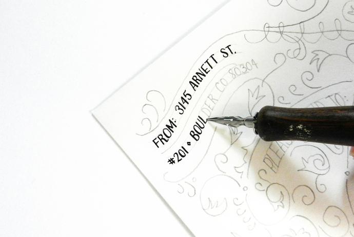 typography envelope 9