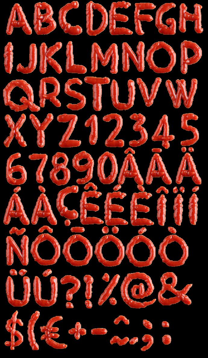 handmade font 10