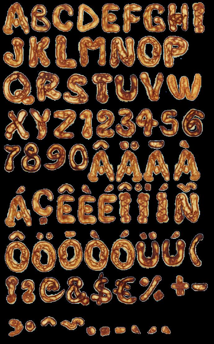 handmade font 8