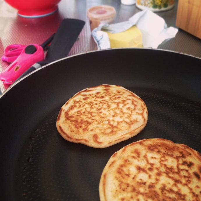 pancakes zonder ei