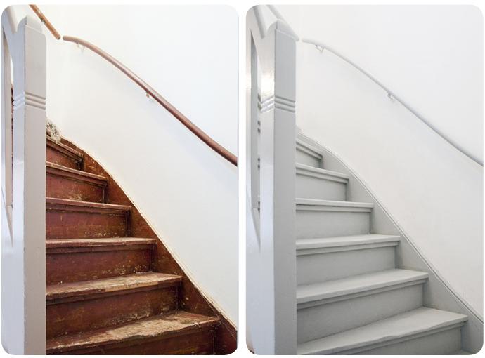 Woonkamer woonkamer opknappen : Zo tof om te zien dat die vergane trap eerst vooral opviel omdat hij ...