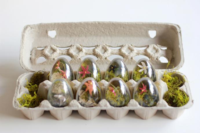 easter eggs terrarium 6