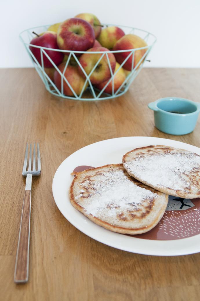 pancakes en appels