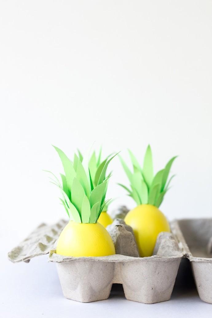 pineapple easter eggs 1