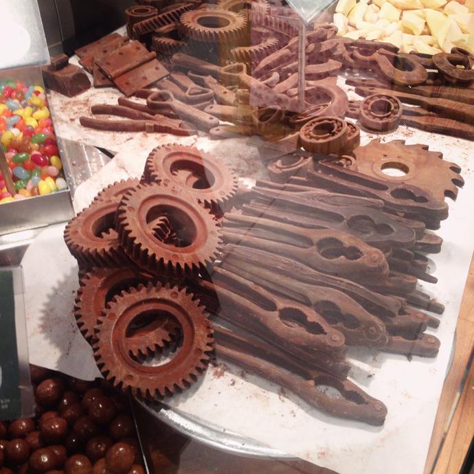 chocola mannen