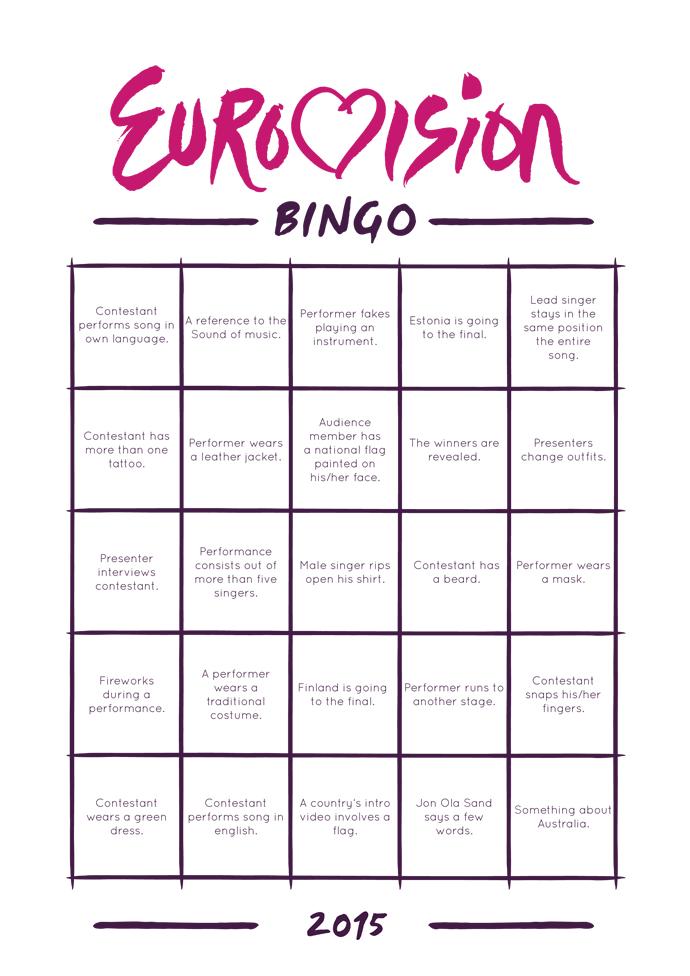 eurovision bingo.indd