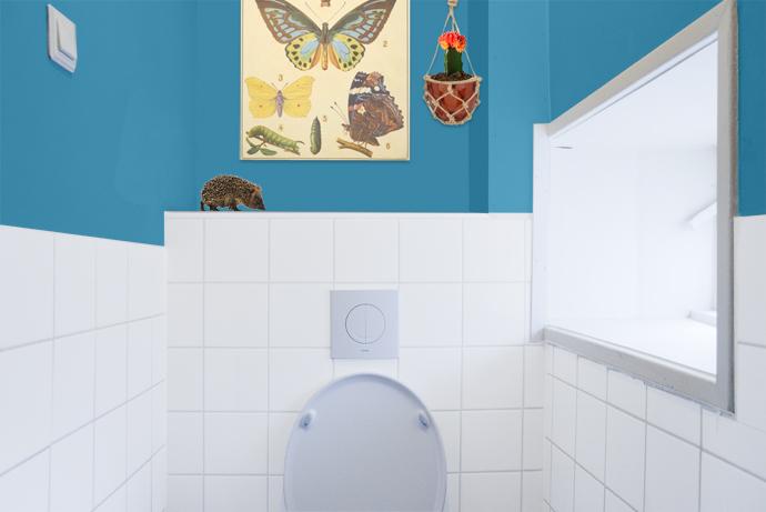 Home improvement photoshop schets van de wc team confetti - Muur wc ...