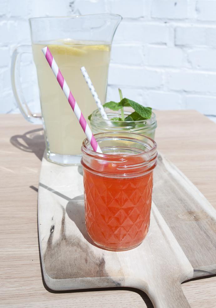 lemonade lemon strawberry
