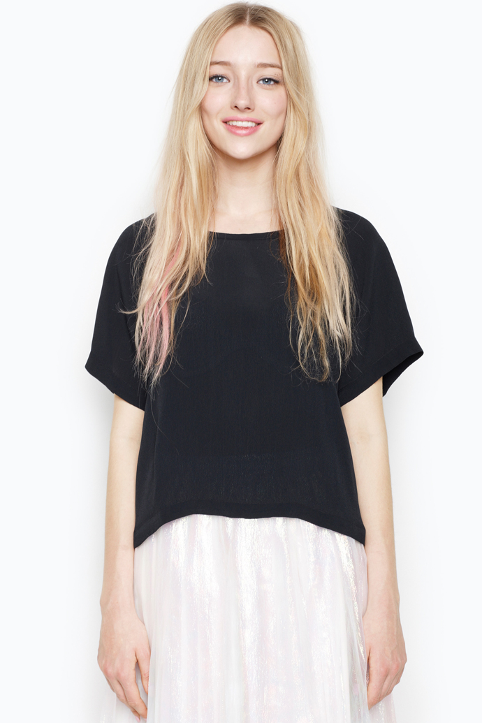 maggan top black