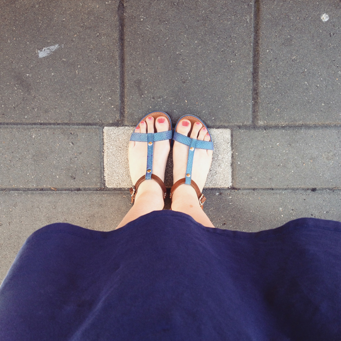 station sandalen