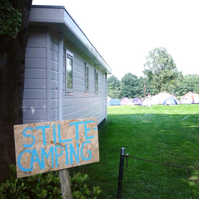 stilte camping