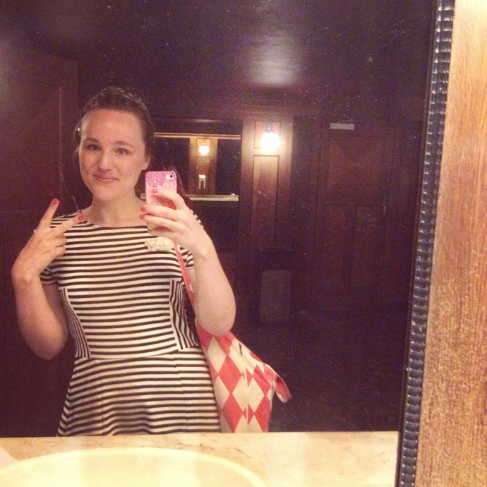 wc selfie