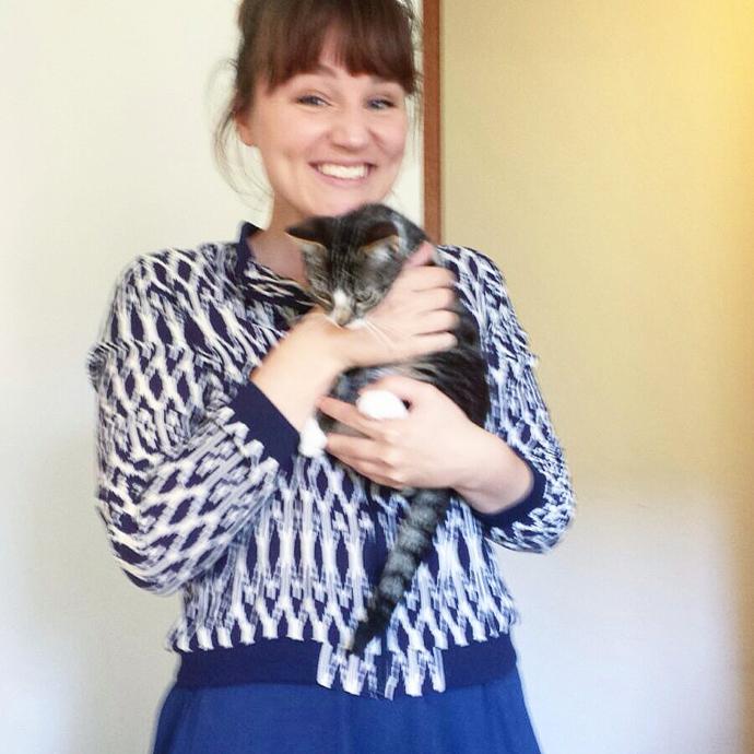 kitten knuffelen
