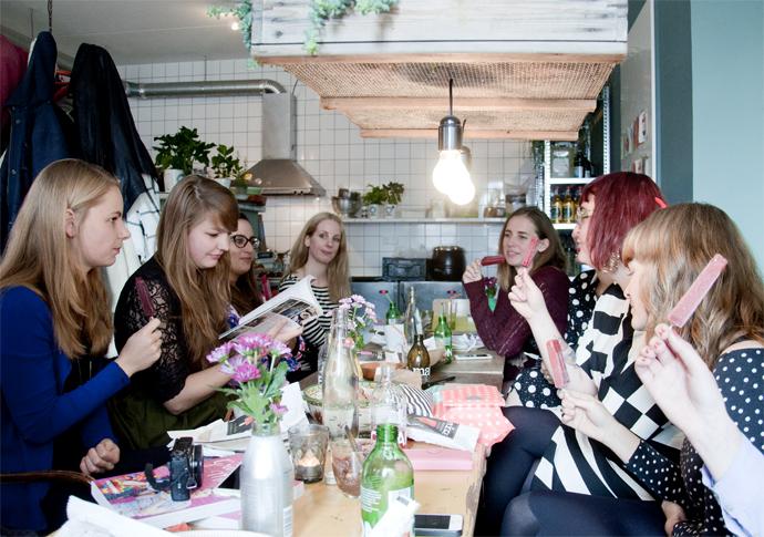 groene meisjes bloggers