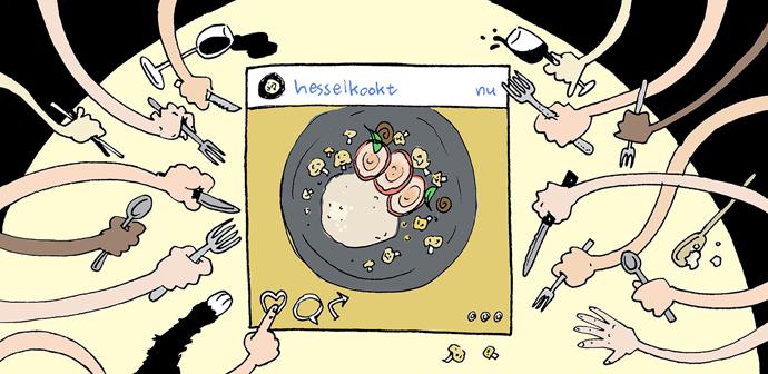hesselkookt insta illustratie