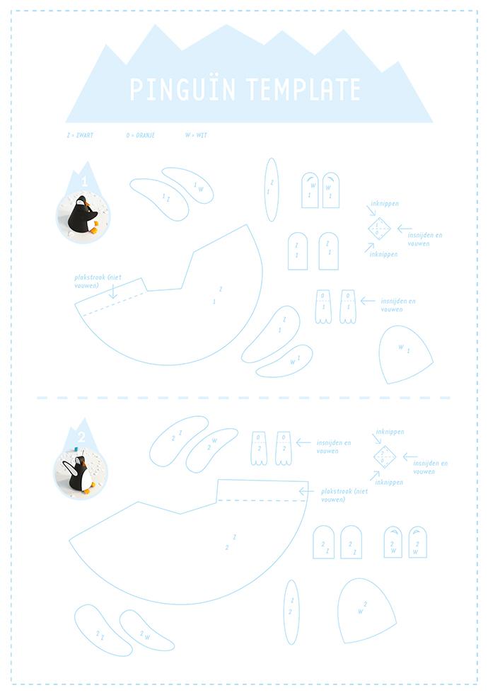 pinguin template 2