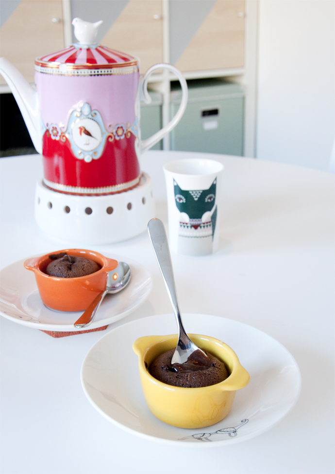 chocolade en thee