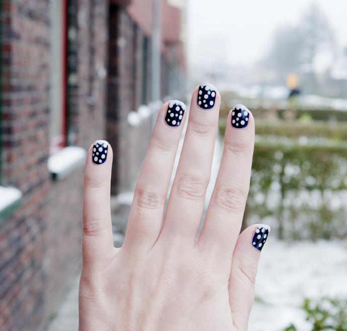 sneeuw nagels