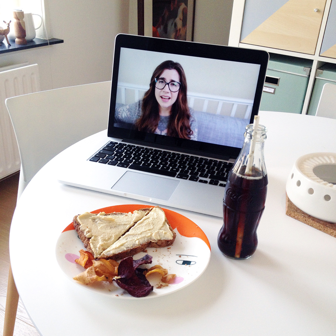 lunch met Fran