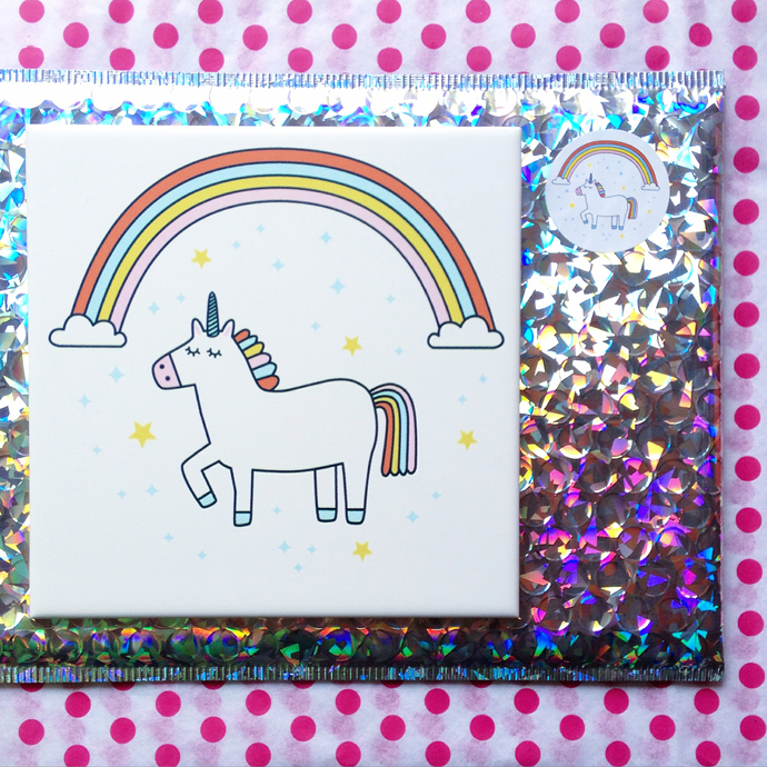 unicorn tegel
