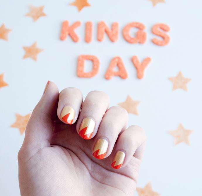koningsdag nagels 1