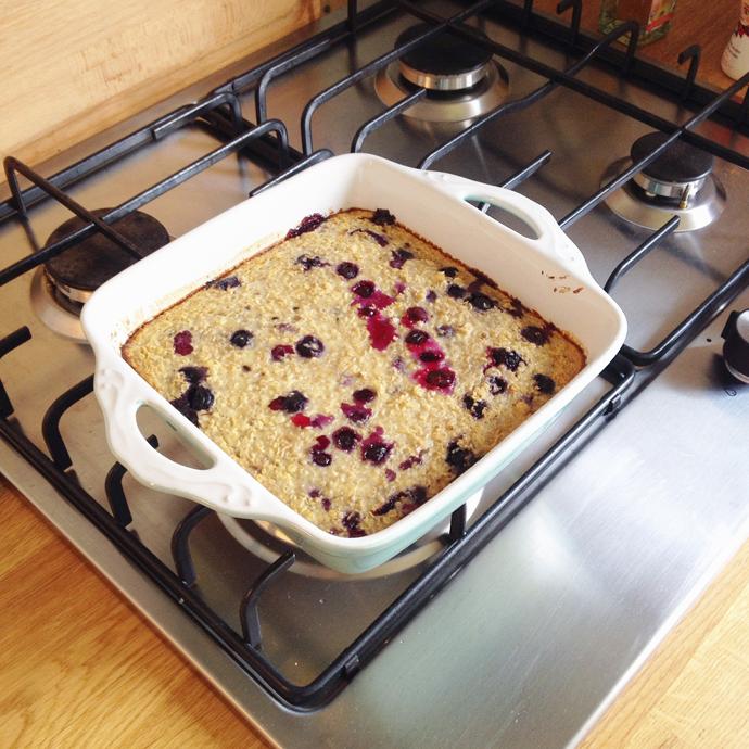 baked oates