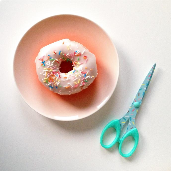 donut schaar sprinkle