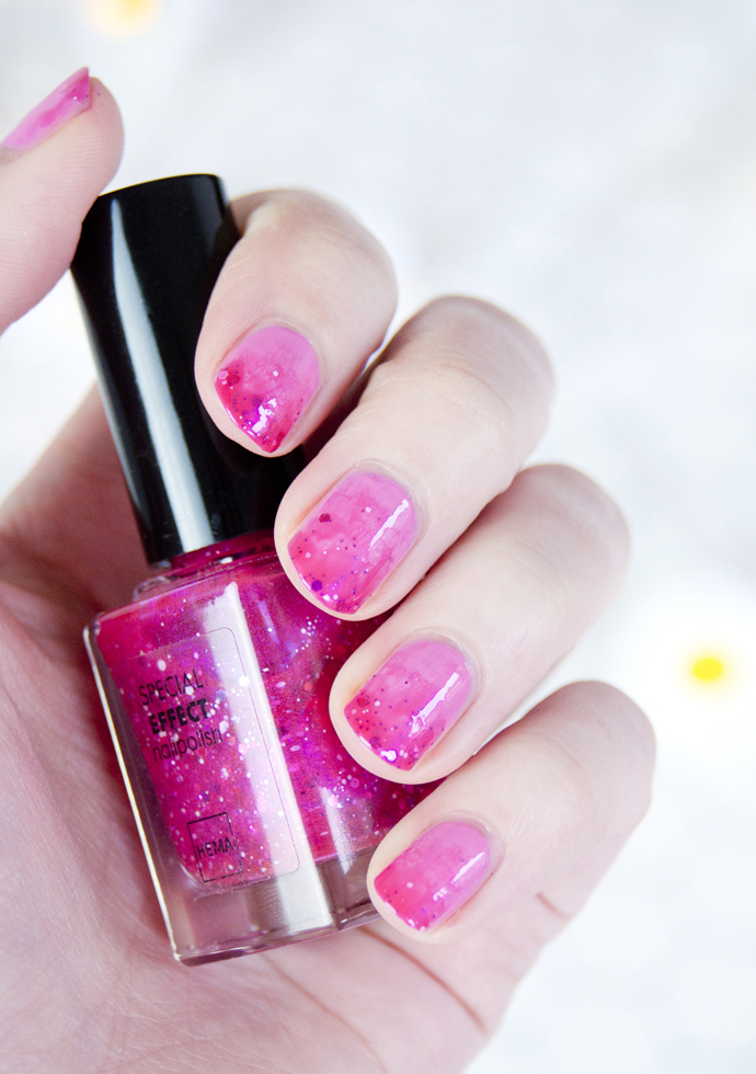 easy fancy pink nails 4