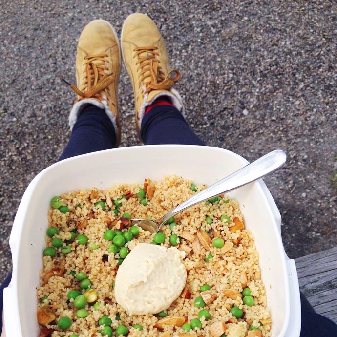 lunch park couscous