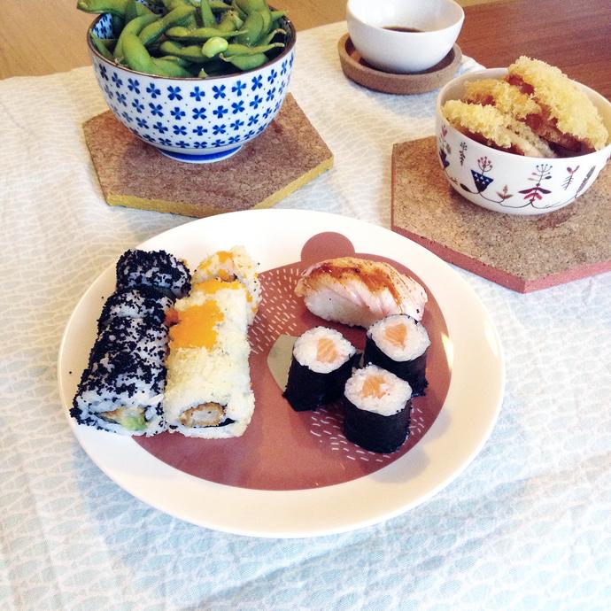 sushi woensdag