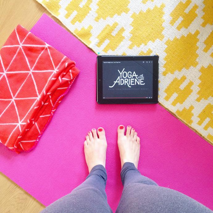 yoga with adrienne zaterdag