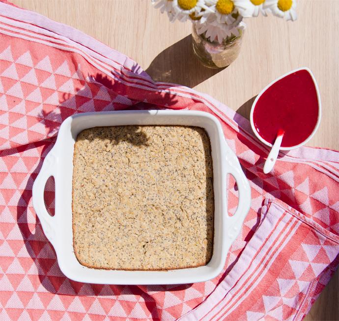 citroen maanzaad baked oats