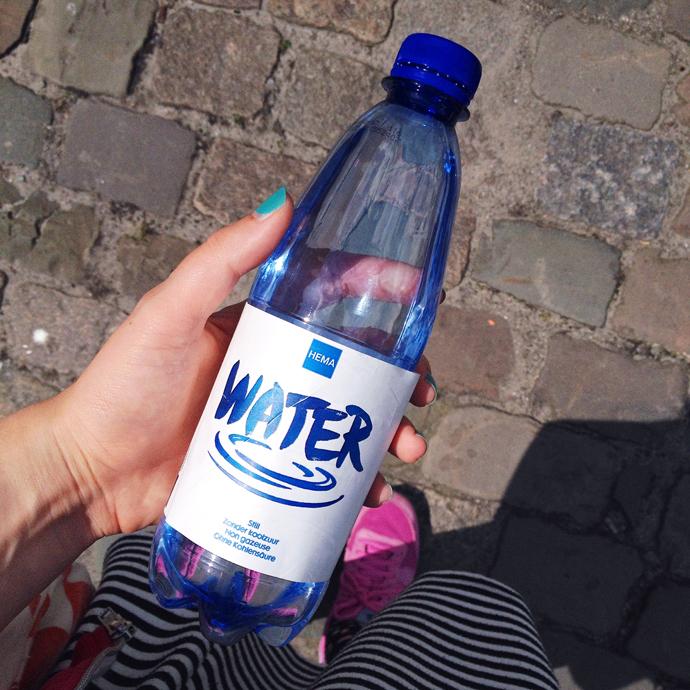 neem altijd een flesje water mee
