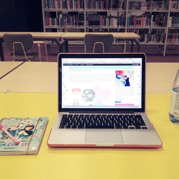 bibliotheek werken