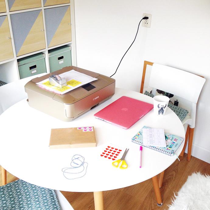 tijdelijk bureau