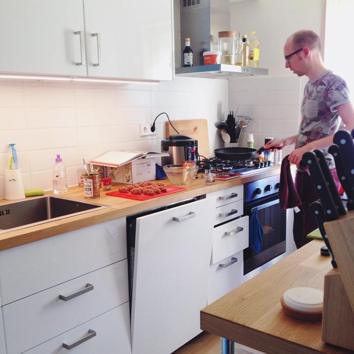 tom kookt