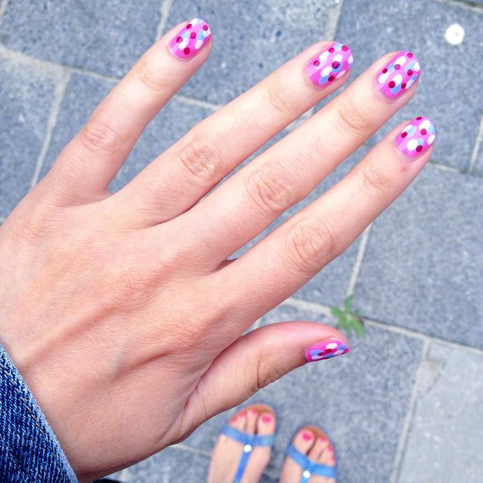 dots nagels