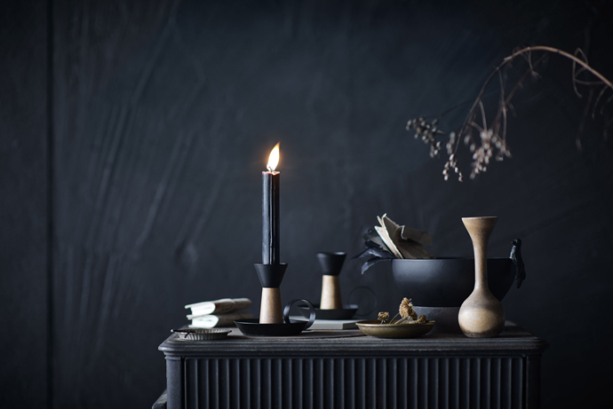 Atmospheric candle holders for a cosy night in by Ikea.