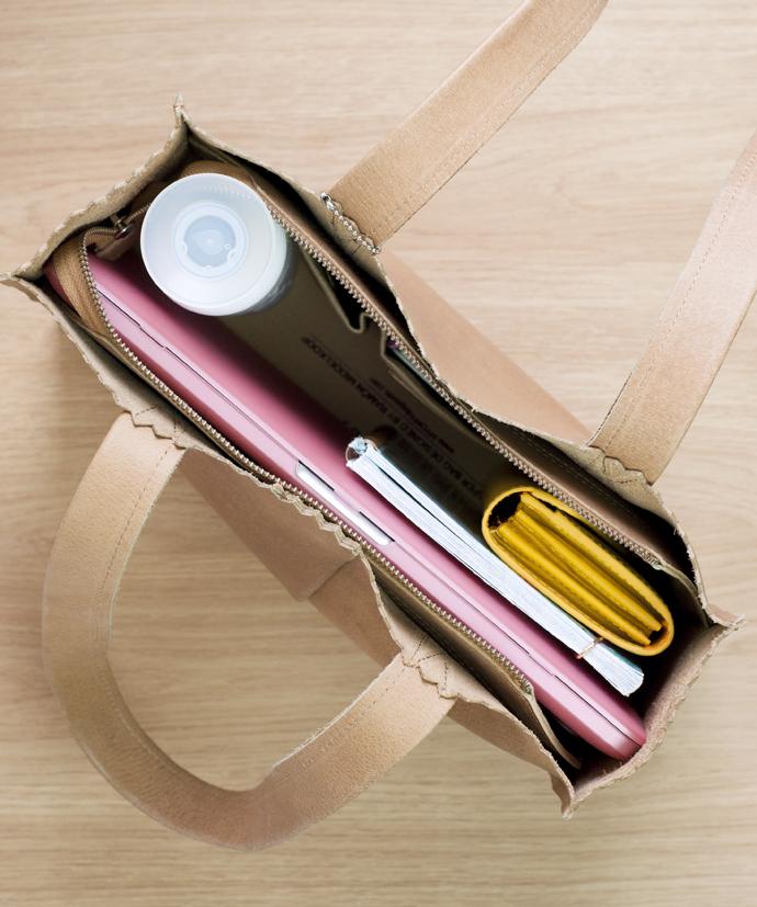 inside the bag 1