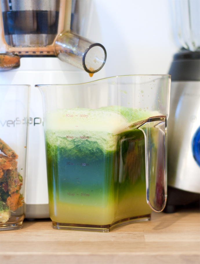 rainbow green juice