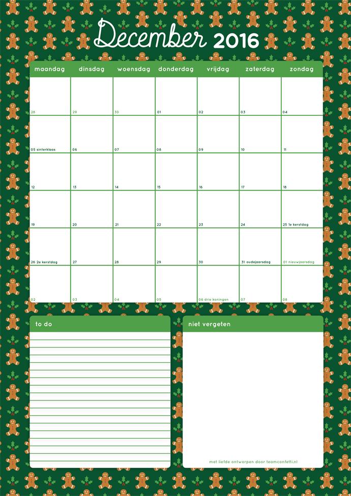 maandplanner-december-2016
