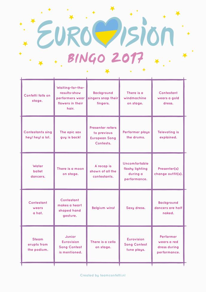 bingo voorbeeld finale