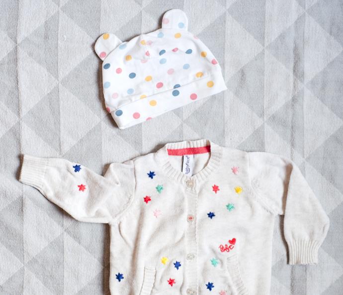 confetti outfit
