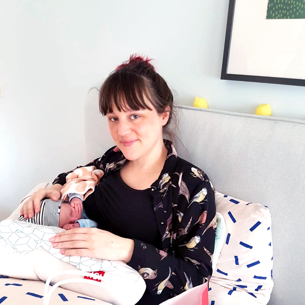 geboorte Kiki Marie 17