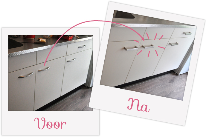 New DIY DONDERDAG – Mini keuken make-over #2 | Team Confetti &GA96