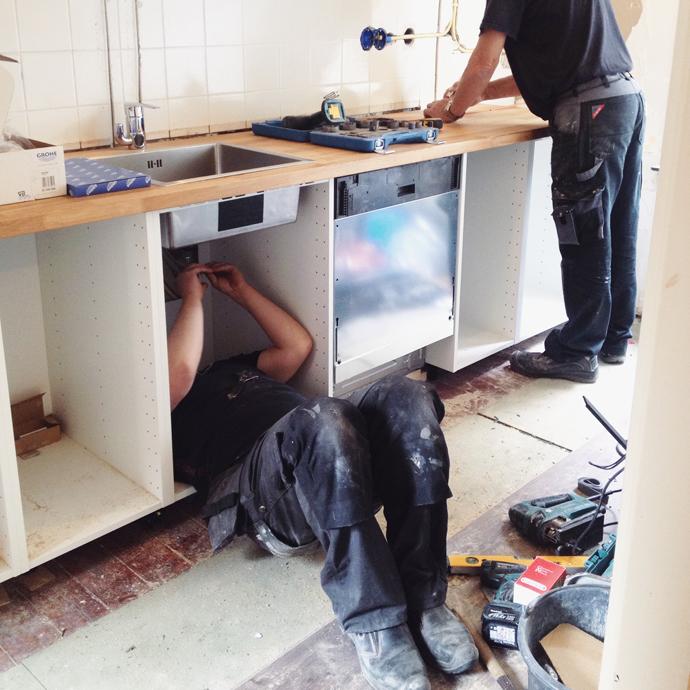 Hoe overleef je een ikea keuken renovatie team confetti for Zelf je keuken ontwerpen